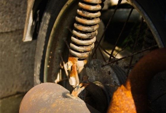 Mẹo chống rỉ sét cho xe máy