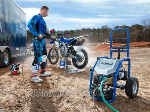 Máy bơm nước rửa xe áp lực cao chuyên xịt rửa ô tô, xe máy