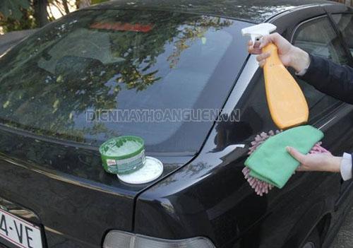 Công nghệ rửa xe ô tô không cần nước có tốt không?