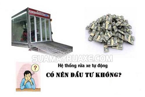 Có nên kinh doanh hệ thống rửa xe tự động tại Việt Nam