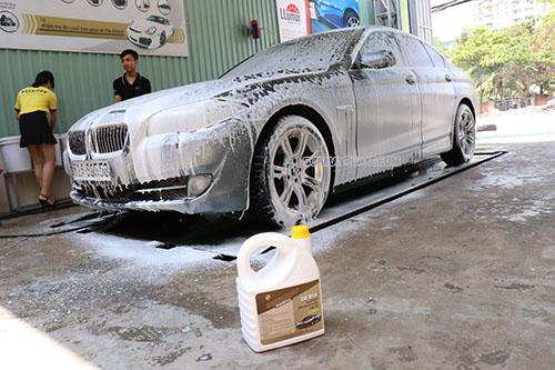 Rửa xe không chạm là phương pháp tẩy rửa tiên tiến hiện nay