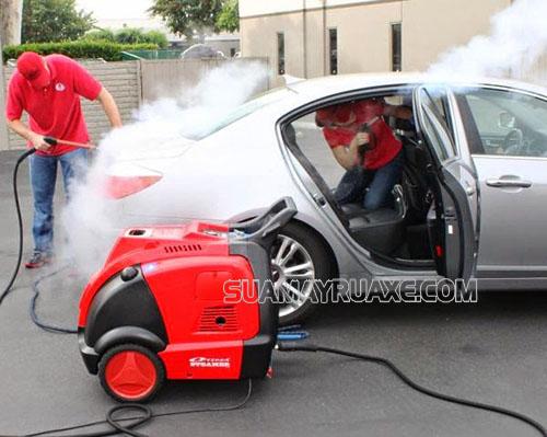 Máy rửa xe ô tô công nghệ cao là thiết bị thông minh
