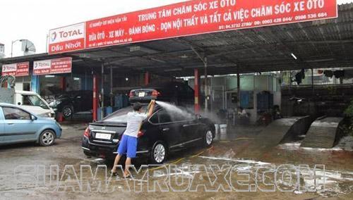 Tiệm rửa xe thành công hay thất bại nằm ở chính người chủ kinh doanh