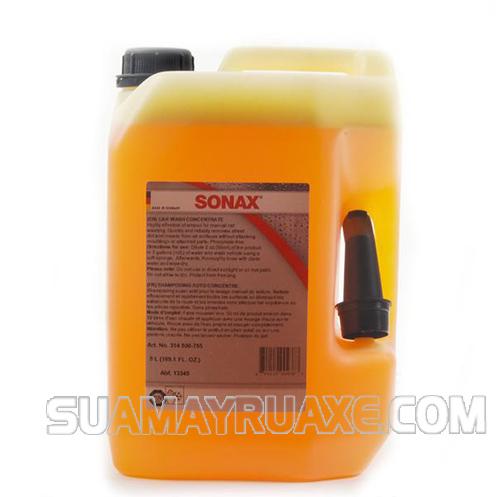 Nước rửa bọt tuyết Sonax có rất nhiều công dụng