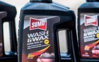 Nước rửa xe Sumo có chất lượng tốt