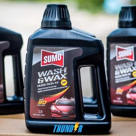 Những lý do thuyết phục người dùng lựa chọn nước rửa xe Sumo
