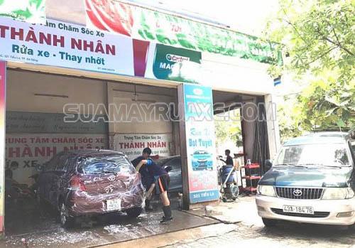 Dịch vụ rửa xe ô tô tại Đà Nẵng cho khách du lịch