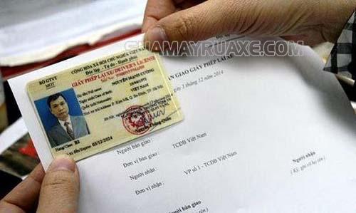 Giấy phép lái xe là loại giấy tờ quan trọng