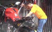 Trải nghiệm rửa xe 2 triệu đồng ở TP. Hồ Chí Minh