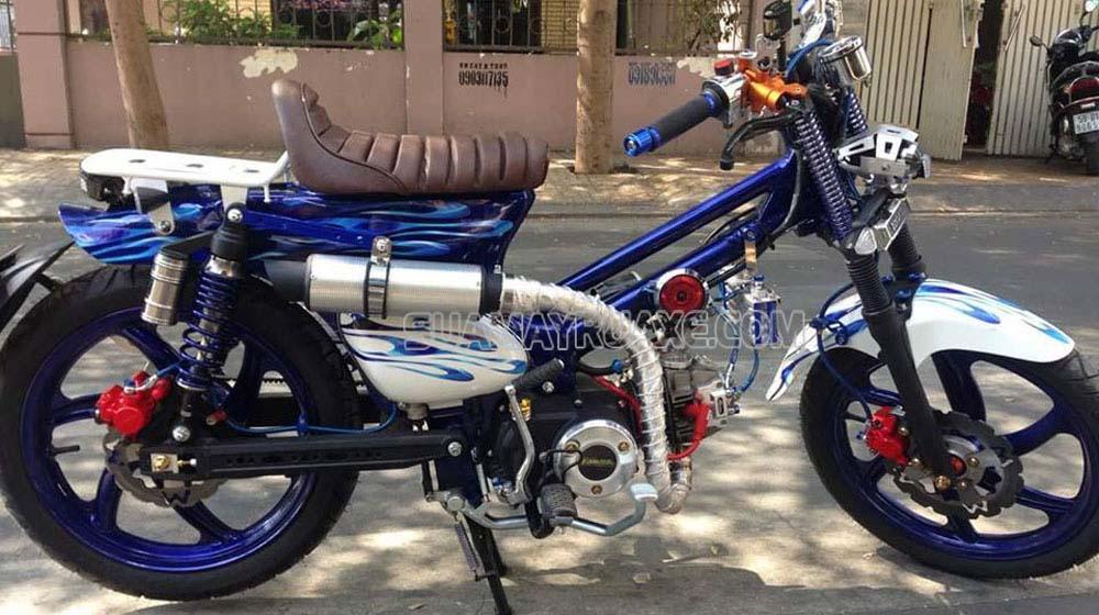 Bạn không nên thay đổi kết cấu xe máy so với nguyên mẫu của nhà sản xuất