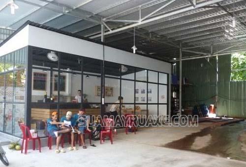 Bạn có thể kết hợp dịch vụ cafe trong tiệm rửa xe