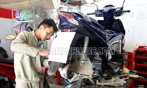 Mỗi hạng mục bảo dưỡng xe máy có mức giá khác nhau