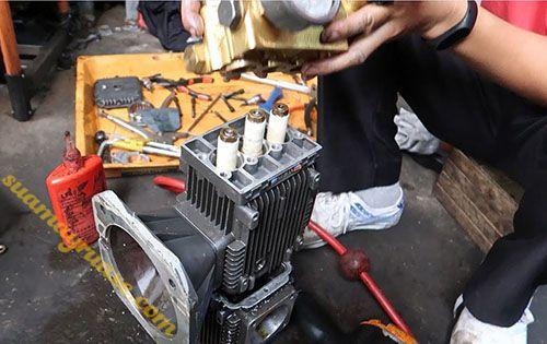 Các cơ sở chuyên sửa chữa máy móc