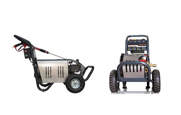 Máy rửa xe cao áp 3 pha có thiết kế bền bỉ, hiệu năng vượt trội