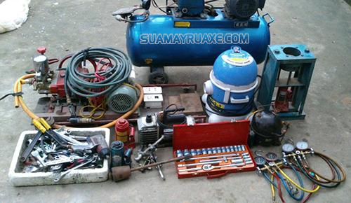 Nguyên nhân dẫn tới máy rửa xe không lên nước là ống dẫn quá dài