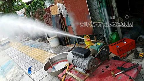 Có nhiều cách khắc phục tình trạng máy xịt rửa xe không lên nước