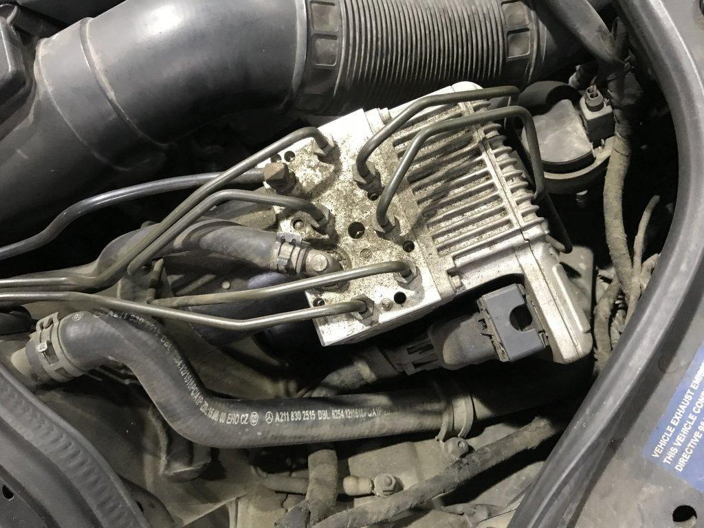 Hệ thống phanh thông minh SBC được lắp đặt trên ô tô