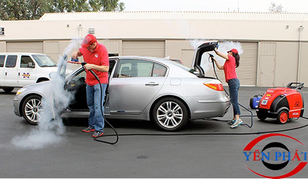 Thiết bị chuyên làm sạch các vết bụi bẩn cứng đầu trên xe hơi