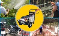Máy rửa xe áp lực cao mang nhiều ưu điểm lớn