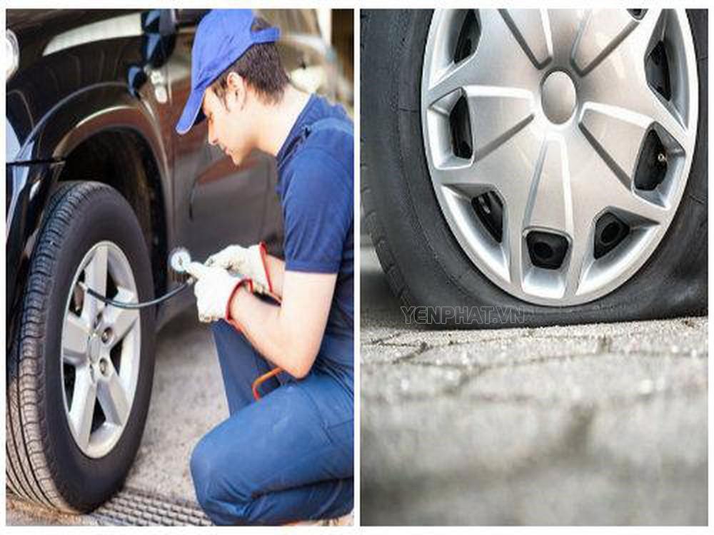 Bơm khí nitơ cho lốp ô tô thật sự có lợi hay có hại?