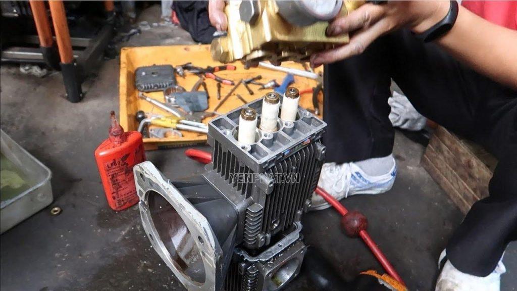 Những lưu ý cần nhớ khi sửa máy rửa xe