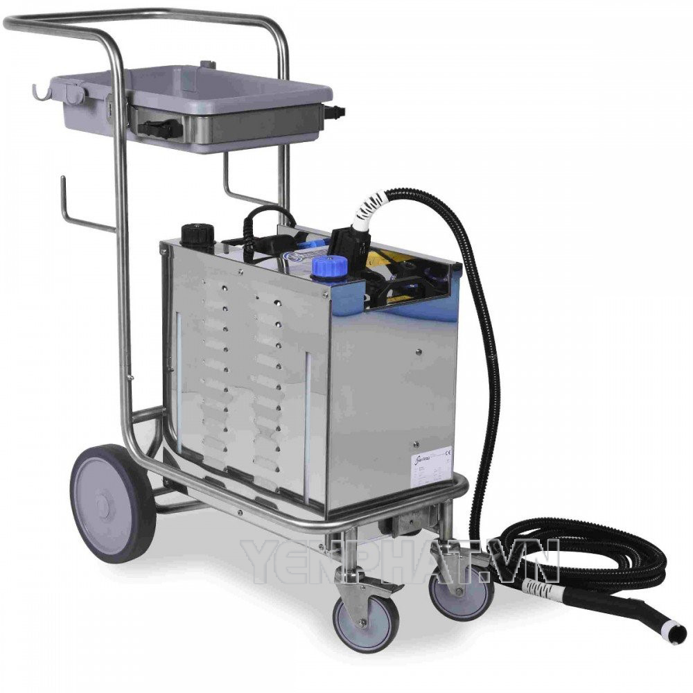 Máy rửa xe hơi nước nóng IPC ngày càng dùng phổ biến hơn