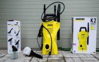 Máy phun rửa xe mini áp lực cao K2