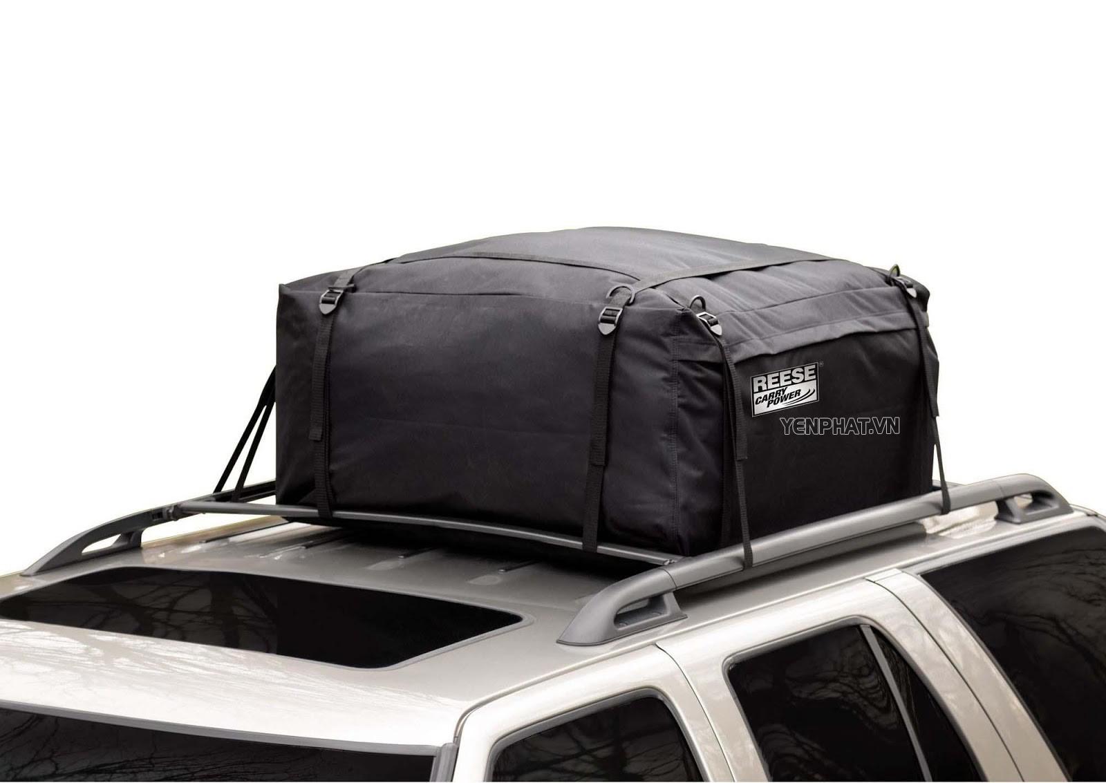 Túi đựng đồ trên nóc xe giảm bớt gánh nặng cho cốp xe