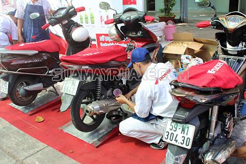 Quy trình bảo dưỡng xe máy airblade