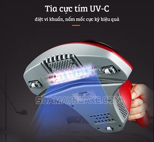 Trang bị đèn diệt khuẩn bằng tia UV