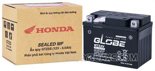 Bình acquy Globe cho xe máy Honda