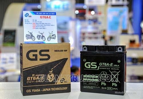 Bình acquy GS cho xe máy