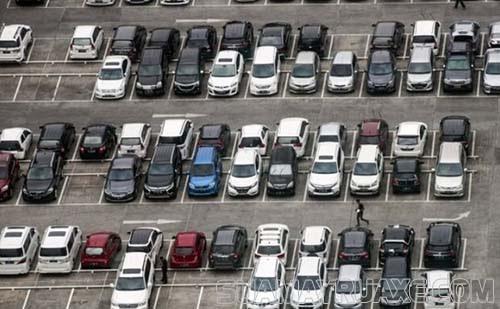 Bãi đỗ xe ô tô đạt chuẩn theo quy định