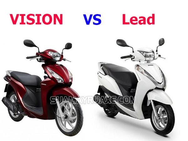nên mua xe máy lead hay vision