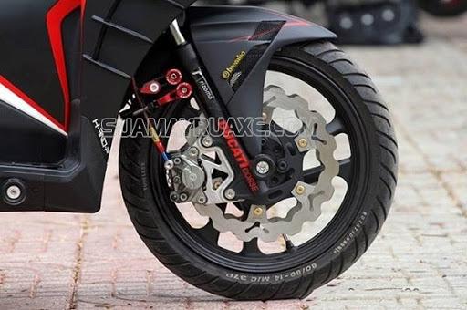 cách tăng chỉnh phanh đĩa xe máy