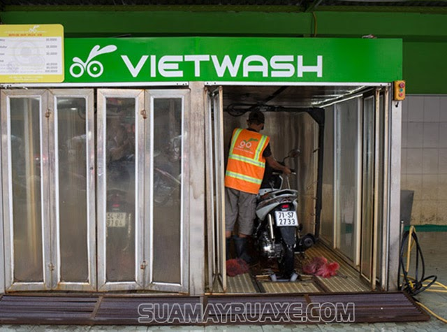 Khám phá hệ thống rửa xe máy tự động thông minh nhất hiện nay