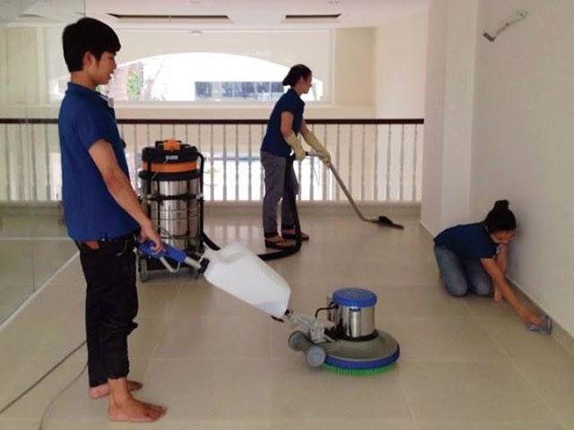 Máy chà sàn đem lại hiệu quả vệ sinh sàn vượt trội