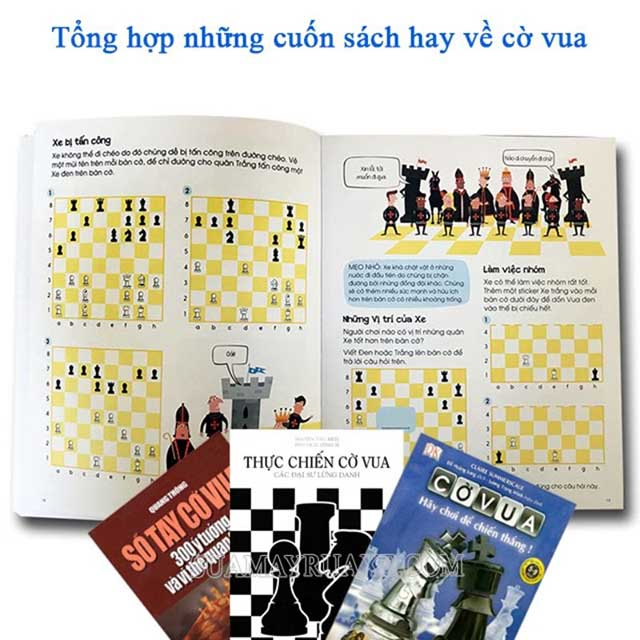 Những cuốn Sách cờ vua khá thú vị mà các bạn không thể bỏ lỡ