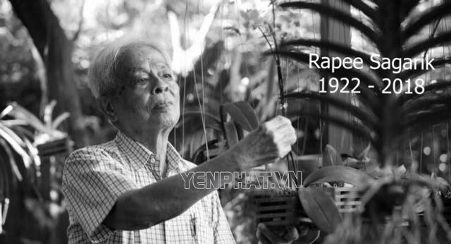 Giáo sư Rapee Sagarik - Cha đẻ của hoa Lan xứ chùa vàng