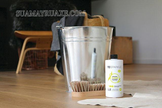 Nước lau sàn gỗ hữu cơ Resparkle