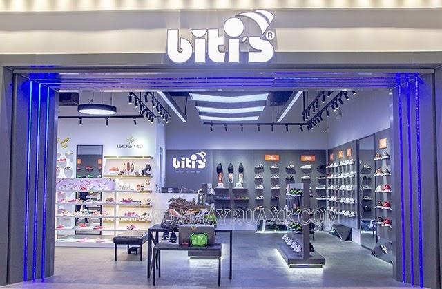 Cửa hàng của thương hiệu Biti's nổi tiếng