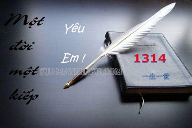 Ý nghĩa của số 1314 được giới trẻ sử dụng trên các trang mạng xã hội